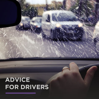 Advice for drivers