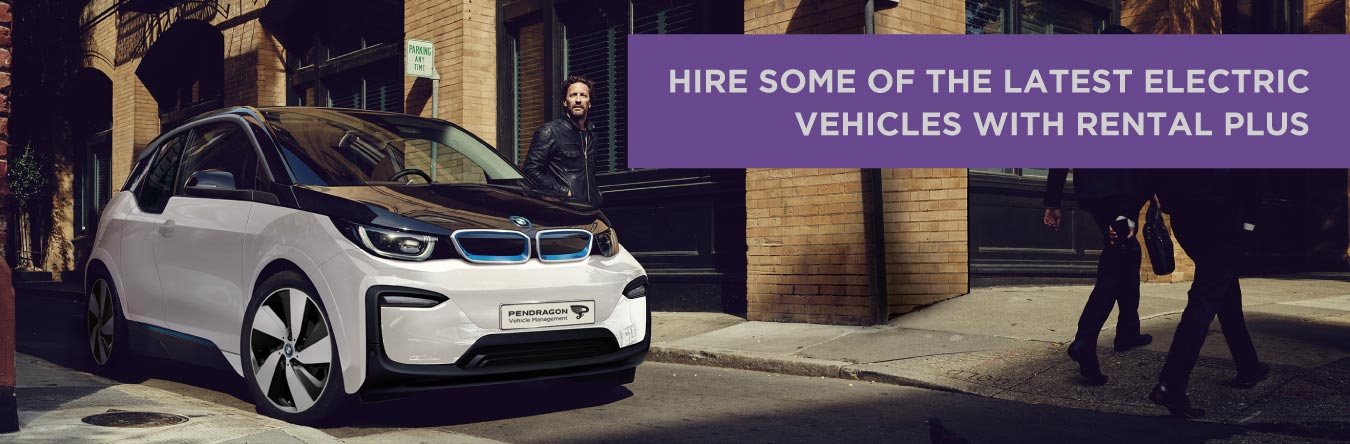 BMW i3 available with Rental Plus