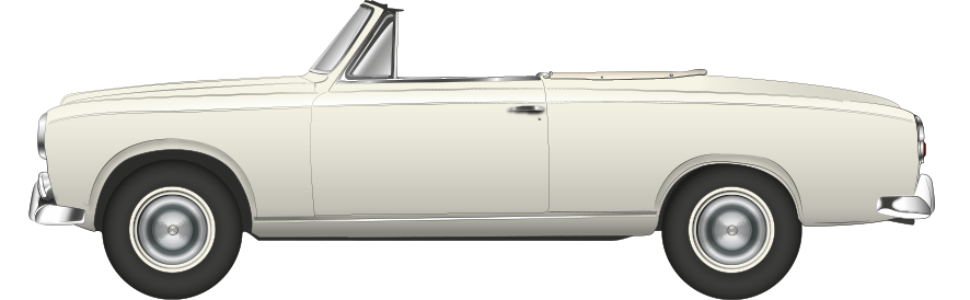 Columbo Peugeot 403 Cabriolet