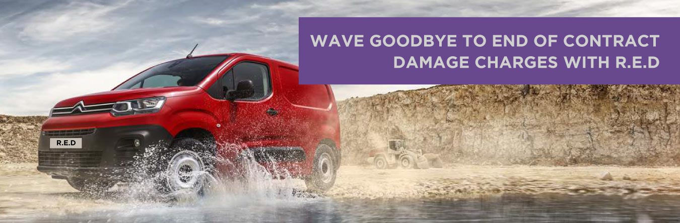 Wave goodbye to damage charges with RED