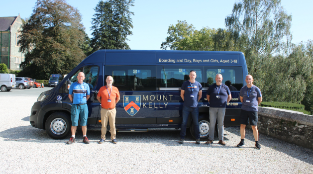 Mount Kelly Minibuses and Drivers