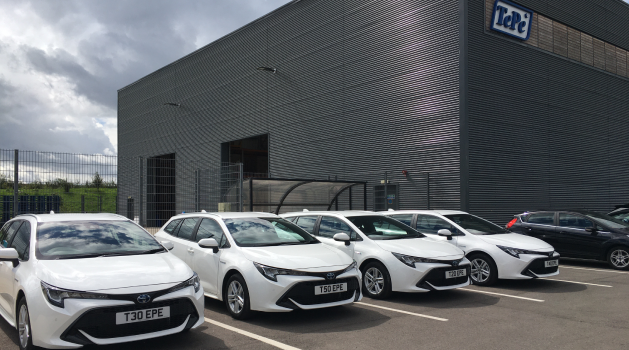 TePe Oral Hygiene take delivery of 4 new Toyota Corolla Hybrids